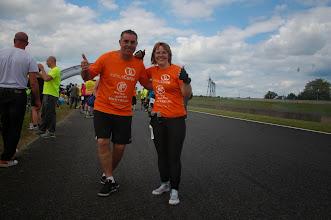 Photo: Le duo magique après la course ... (comparer avec la même photo d'avant la course)