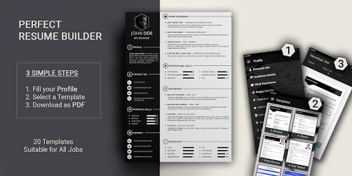 Free resume builder CV maker templates PDF formats 7.8 screenshots 1