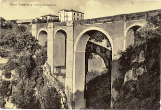 Photo: Ponte Clementino. Primi '900 [Per gentile concessione di Luigi Cimarra].