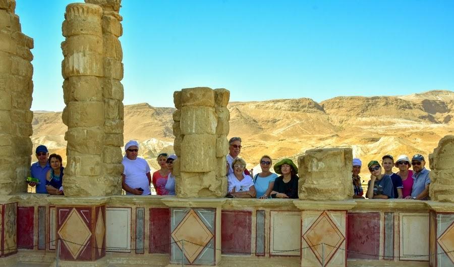 Отзыв о гиде и экскурсии в крепость Масада, Израиль.