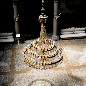 Crystal Chandelier by Doug Faraday-Reeves - Artistic Objects Other Objects ( chandelier, crystal, candles, florence )