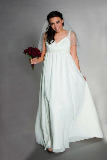 Exquisite, Maternity Wedding Gown