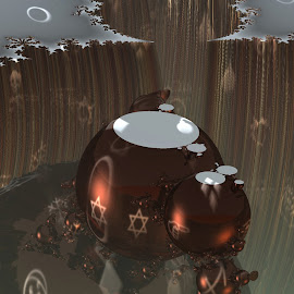 Canyon Task by Rick Eskridge - Illustration Sci Fi & Fantasy ( fantasy, canyon, mb3d, fractal, twisted brush )