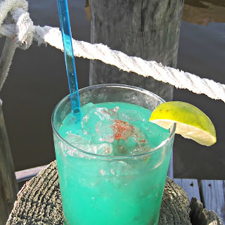 Shark Bite Cocktail.