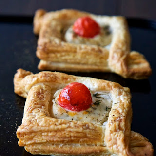 Vegan Canapés - Puff Pastry Gift Boxes.