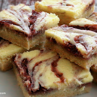Raspberry Cake Mix Bars