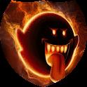 Fiery head Live Wallpaper icon