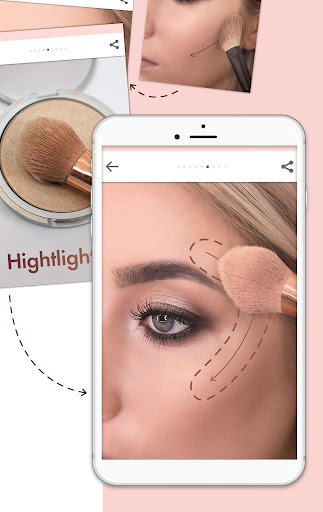 Makeup Tutorial step by step 1.3 Screenshots 7