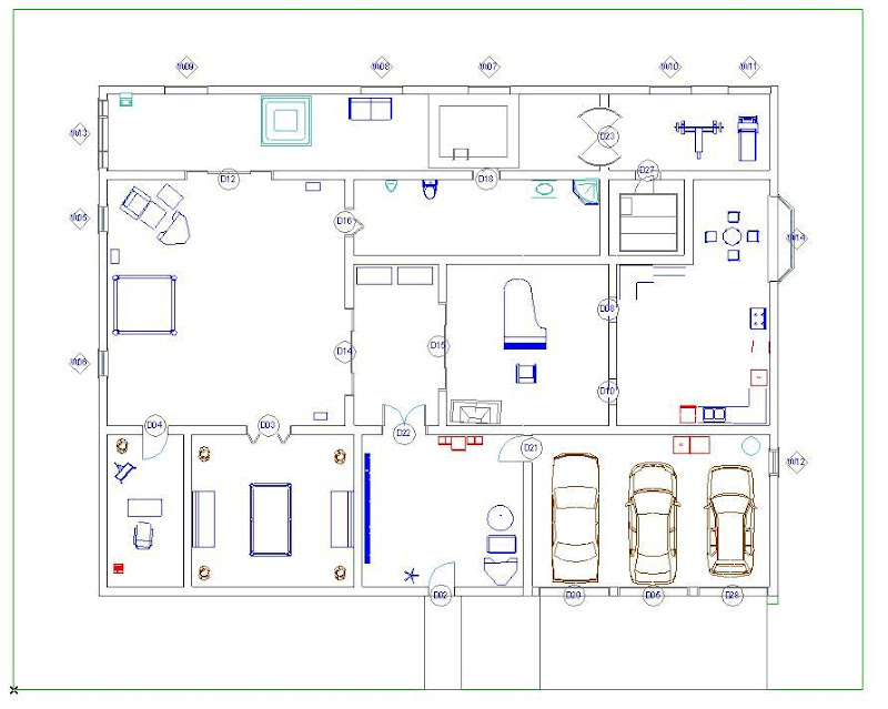 Small Warehouse Floor Plan also S Le Office Space Floor Plans as well Floor Plan In Archicad as well Professional Floor Plan Autocad Drawing additionally 2d Furniture Cad Renderings. on 3d mercial floor plan drawing tool