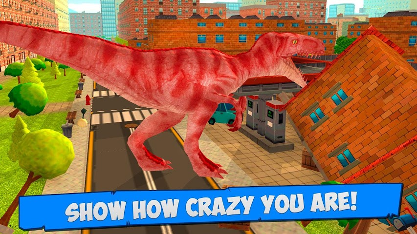 android Tyrannosaurus Dino Simulator Screenshot 3