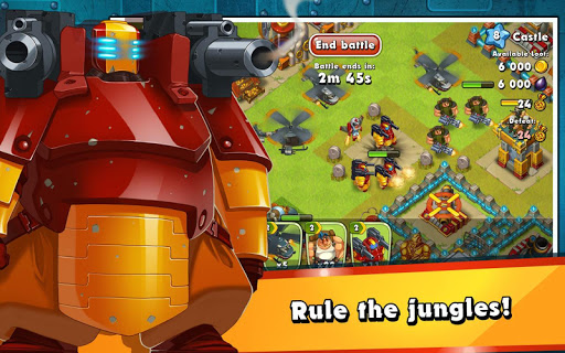 Jungle Heat: War of Clans screenshot 17