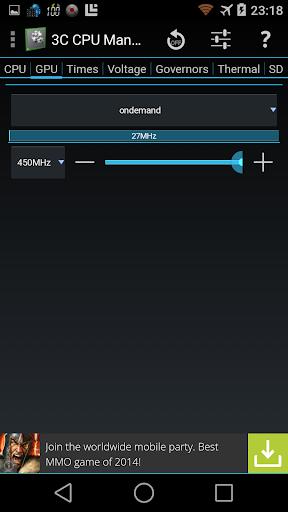3C CPU Manager screenshot 6