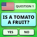 Fun Trivia Game. Questions & Answers. QuizzLand. icon