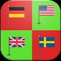 World Capitals Quiz & Puzzle icon