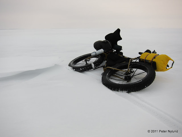 Ice and bike