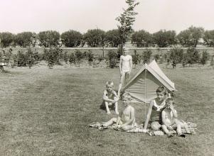 Photo: Recreatieoord in 1970