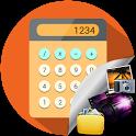 Calculator vault - Gallery Lock icon