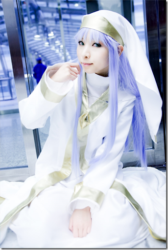 to aru majutsu no index cosplay - index librorum prohibitorum by kanda midori