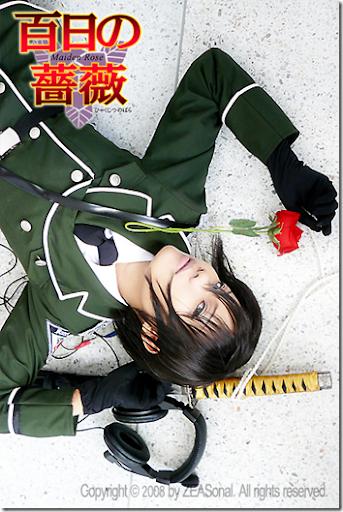 maiden rose cosplay - taki reizen