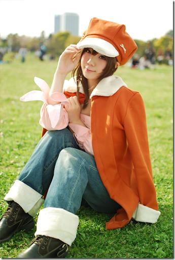 bakemonogatari cosplay - sengoku nadeko by kousaka yun