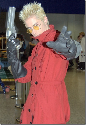 trigun cosplay - vash the stampede