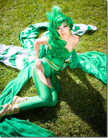 final fantasy iv cosplay - rydia by anita lust