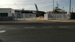 Puerta principal del Estadio.