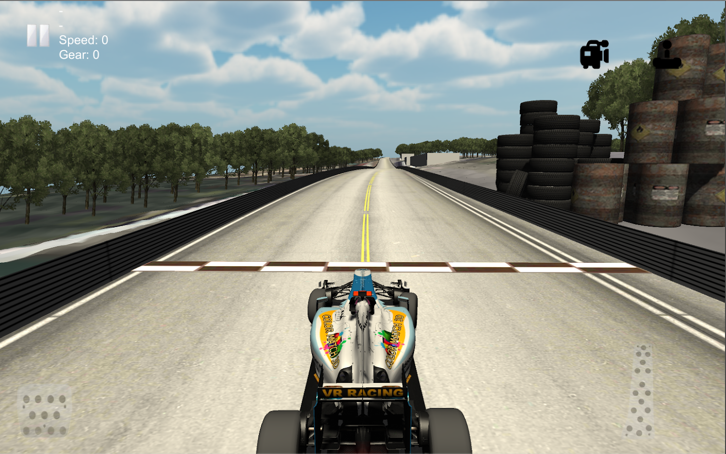 VR Racing- screenshot