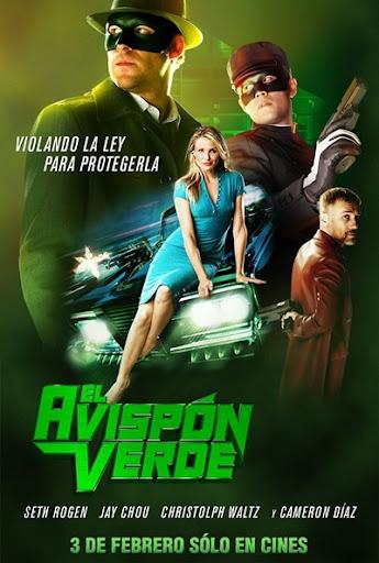 El avisp%C3%B3n verde El Avispon Verde (2011) Español Latino DVDRip
