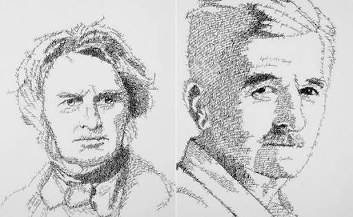 Cловесный портрет человека от Джона Сокола (John Sokol)