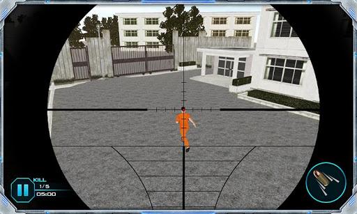 Prison Break Shooting 3D