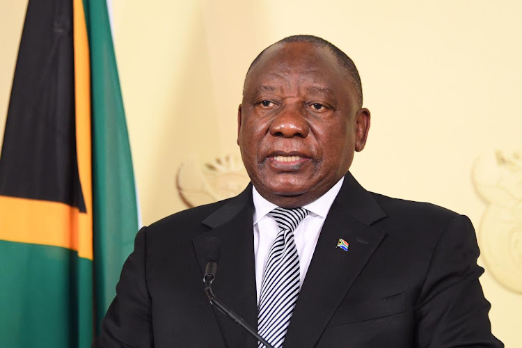 President Cyril Ramaphosa described SA's navigation of the Covid-19 crisis as 'crossing a river' in which some rocks are slippery and others are firm.