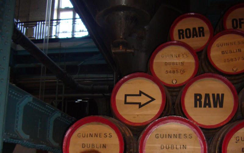 sala de la guinness storehouse en Dublín