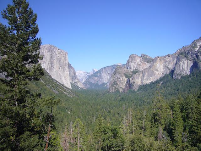 Gran capitan en Yosemite