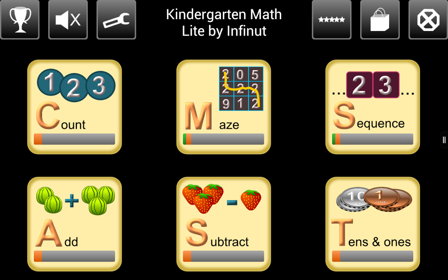 Kindergarten Math Lite- screenshot