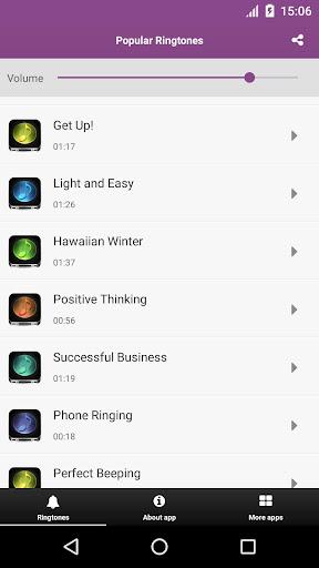 Popular Ringtones Screenshot