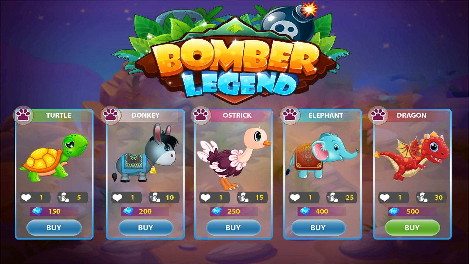 Bomber Legend: Super Classic Boom Battle- screenshot