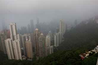 Photo: Day 194 - The View from Victoria Peak on HK Island #3