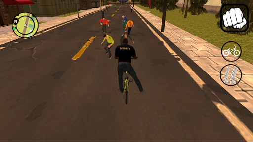 Vice gang bike vs grand zombie in Sun Andreas city 1.0 screenshots 3