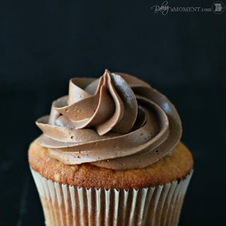 Simply Perfect Chocolate Swiss Meringue Buttercream.