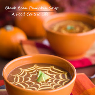 Black Bean and Pumpkin Soup