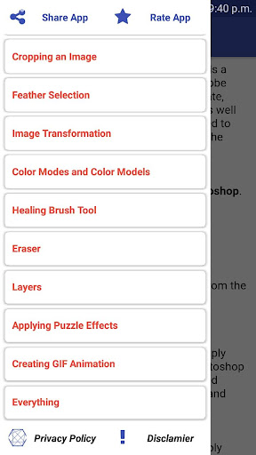 All About Photoshop    Offline  Photoshop Tutorial 4.2.3 androidtablet.us 2