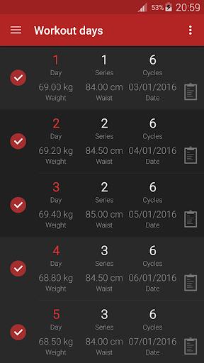 Ejercicios para abdominalesPRO para Android