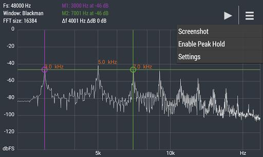 Advanced Spectrum Analyzer PRO 2.1 12