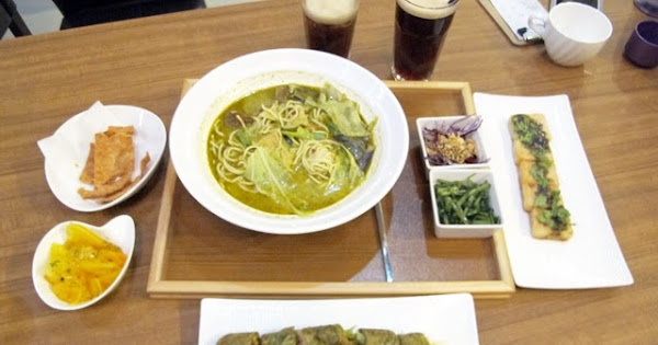 林口南洋風素食~熱浪島南洋蔬食茶堂(林口店)