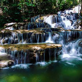 Malol Waterfall by Zaudin Daud - Landscapes Travel