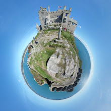 Photo: St Michael's Mount mini planet.