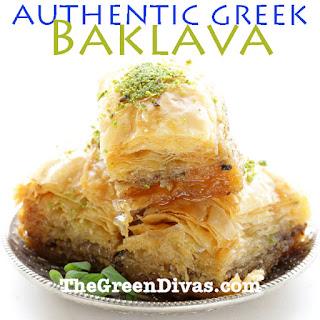 Authentic Baklava Recipe From a Greek Green Diva Recipe
