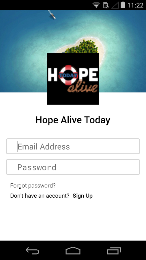 Hope Alive Today- screenshot