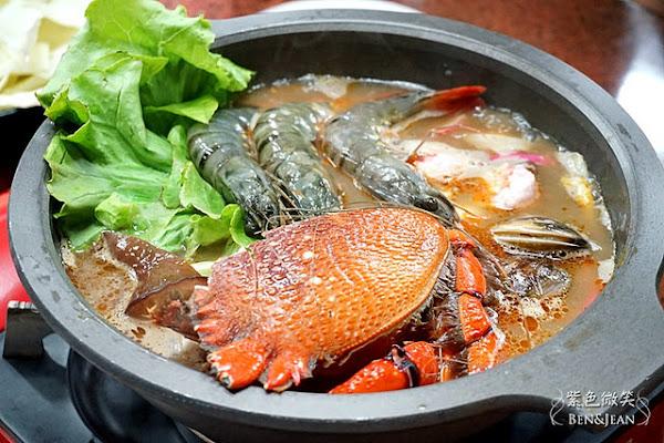 猛嗄海鮮燒烤.海鮮燒烤新鮮好吃、價格實在,艾叻沙火鍋湯頭鮮美,口味新奇的南洋風味